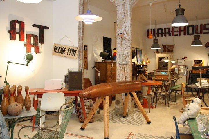 Tienda de decoración en Madrid Passage Privé