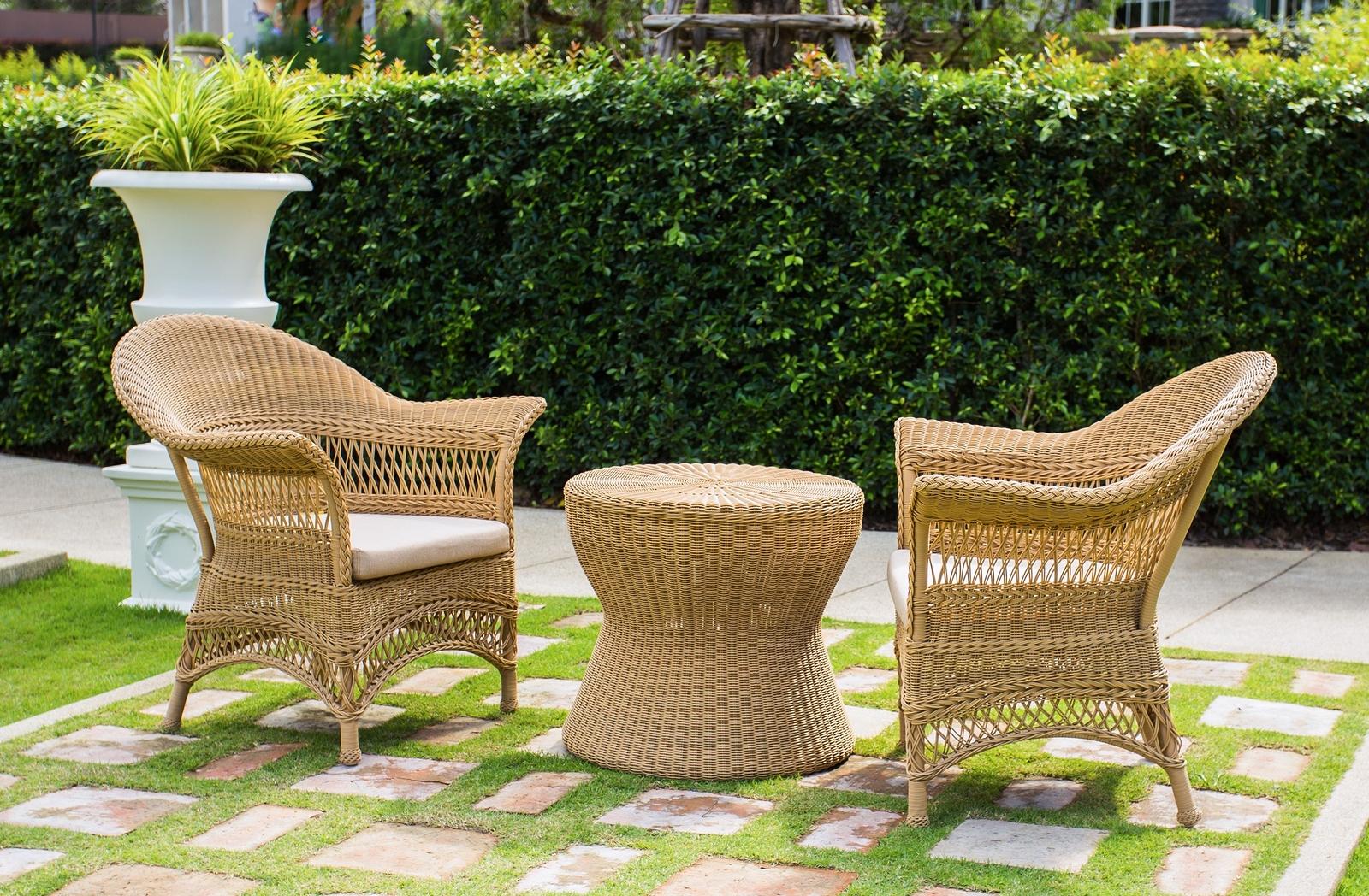 Ventajas de los muebles de mimbre blog de muebles y for Muebles de mimbre para jardin