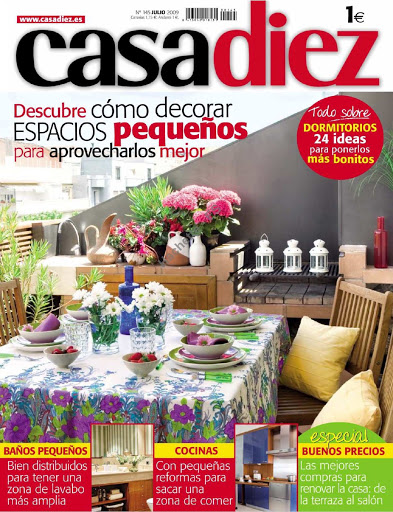 revista decoración casa diez