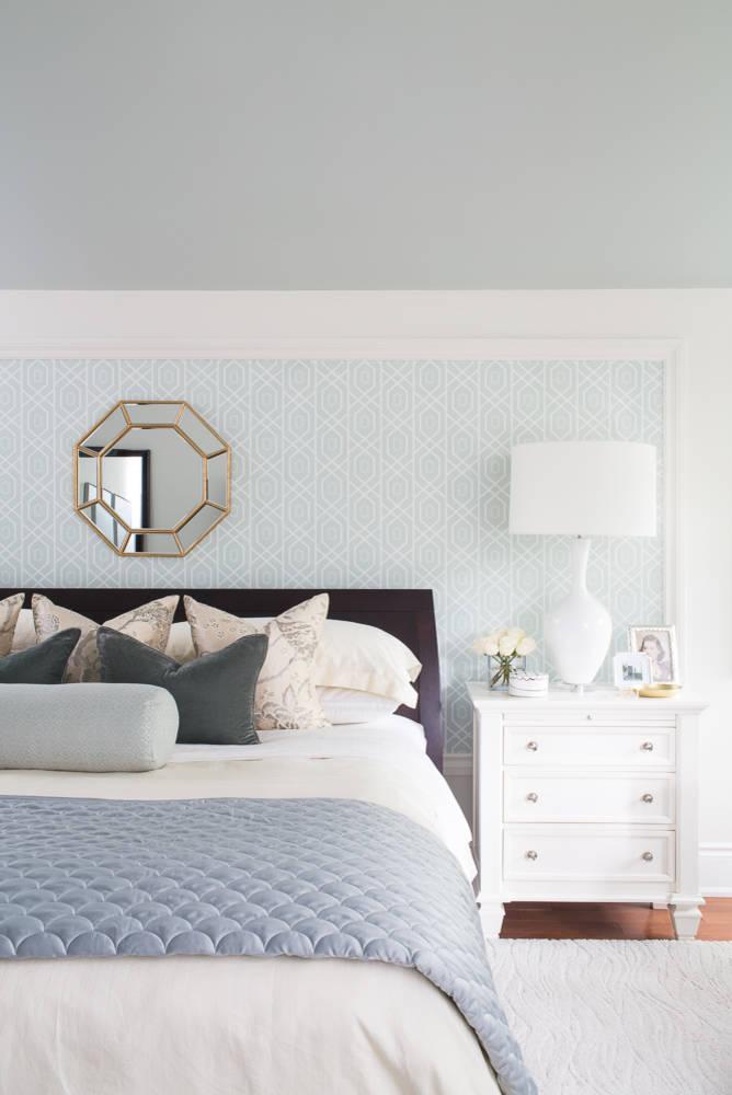 cama para decoración de dormitorios