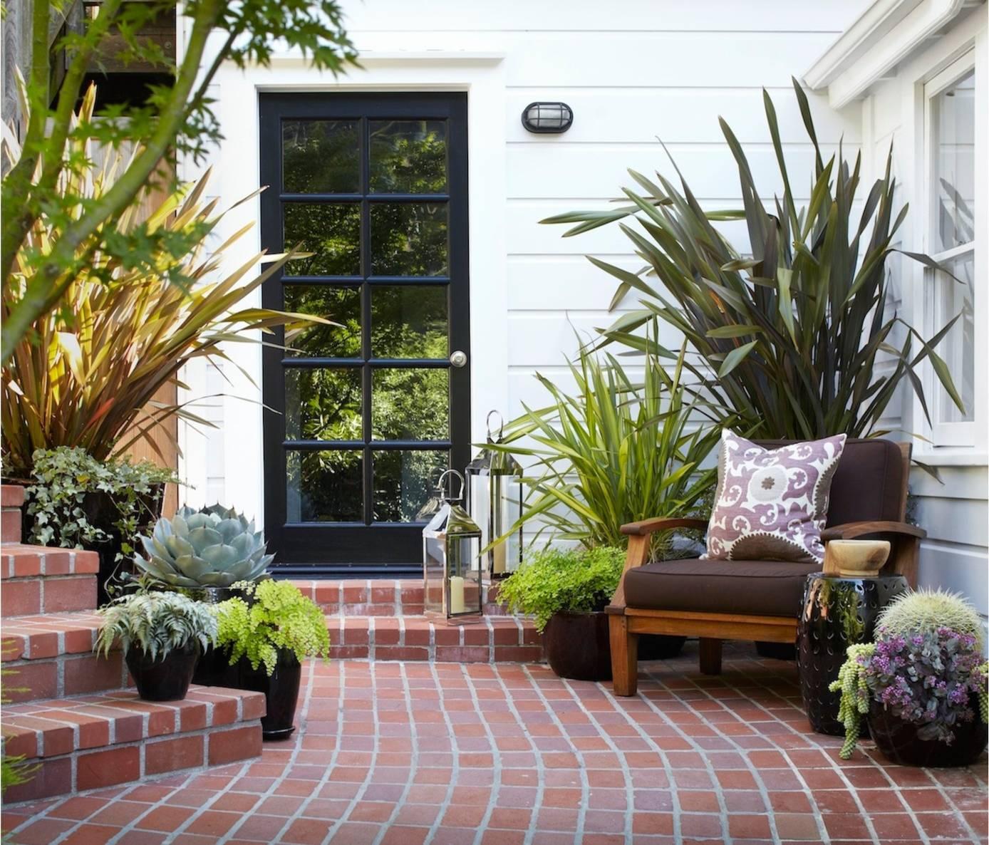 decorar con plantas terraza