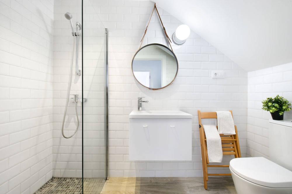 espejos en baño estilo feng shui
