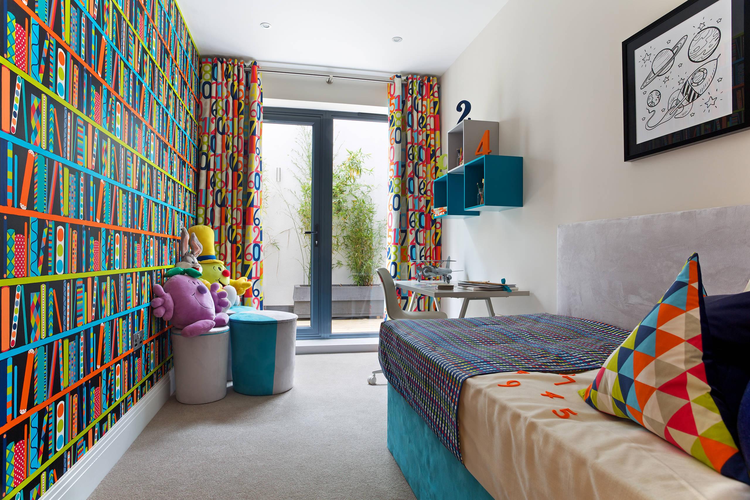 habitación infantil colorida