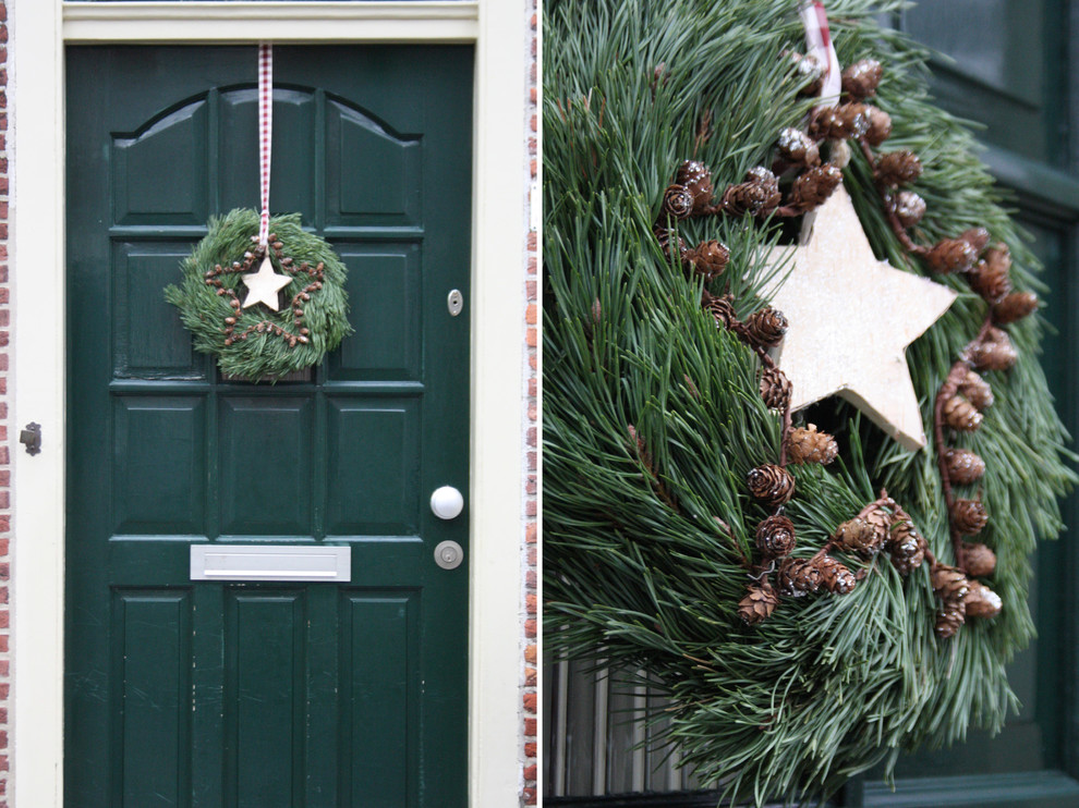 corona de navidad decoración