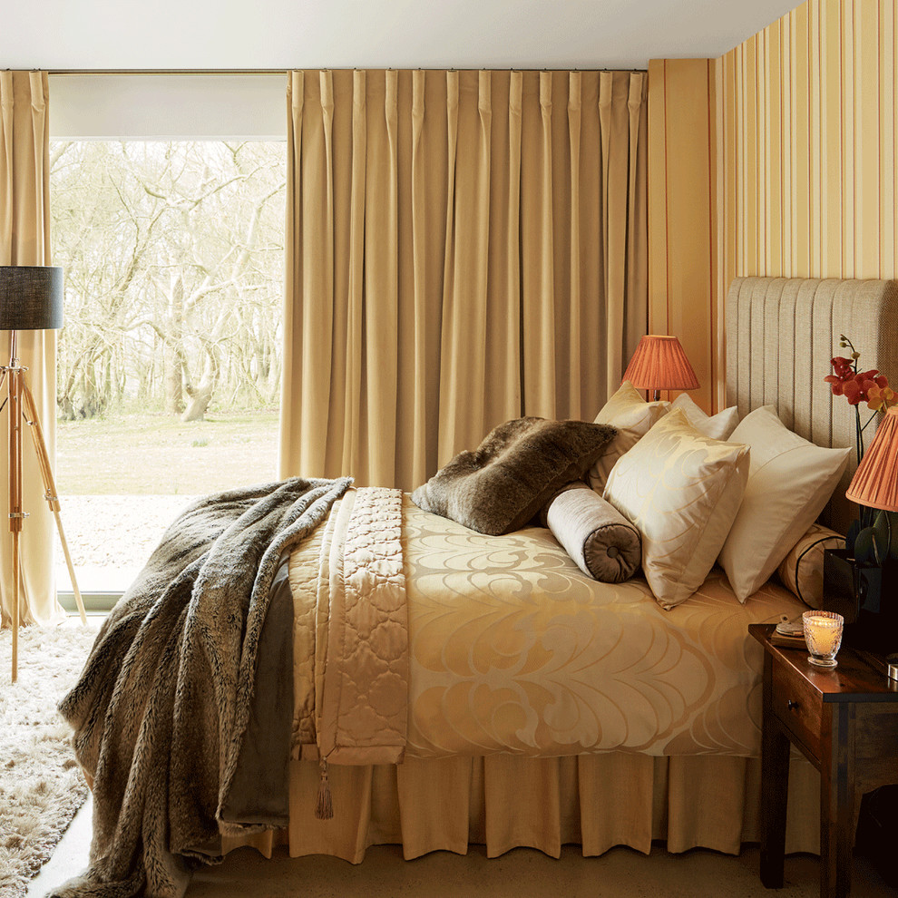 cojines en dormitorios acogedores