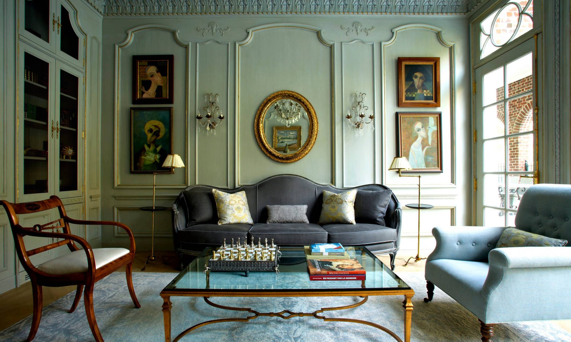 Decoraci n vintage en tu sal n blog de muebles y decoraci n for Decoracion de salones vintage