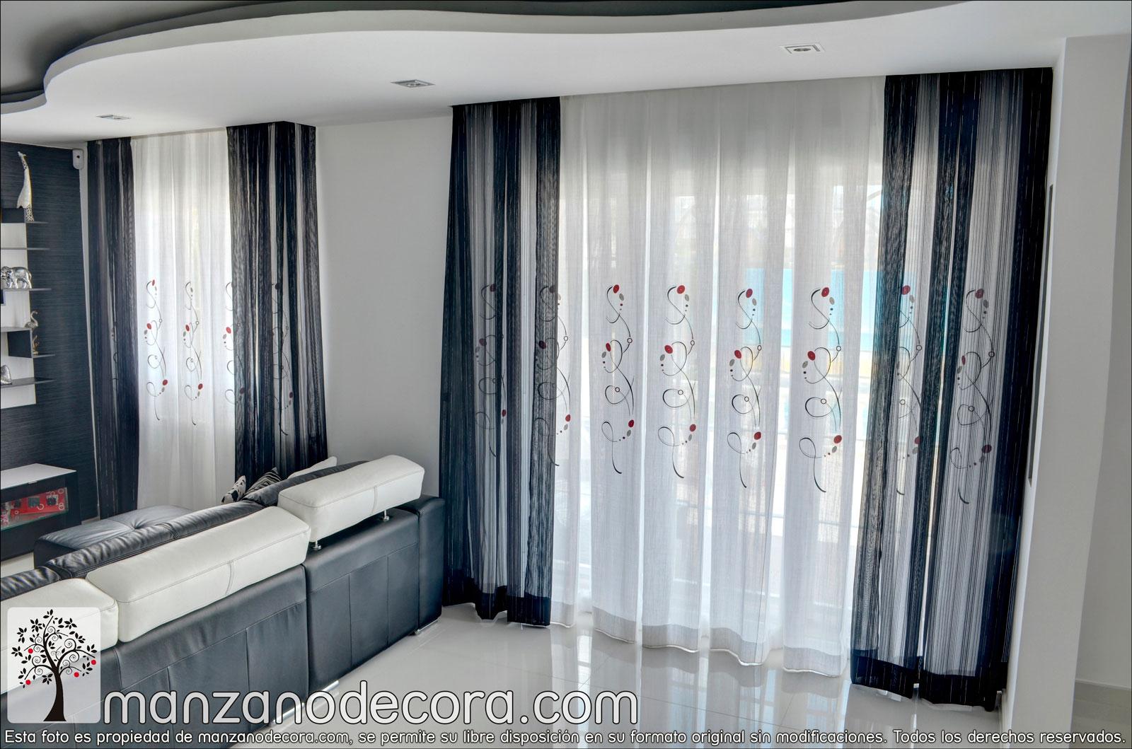 Ideas para cortinas de salón  Blog de Muebles y Decoración