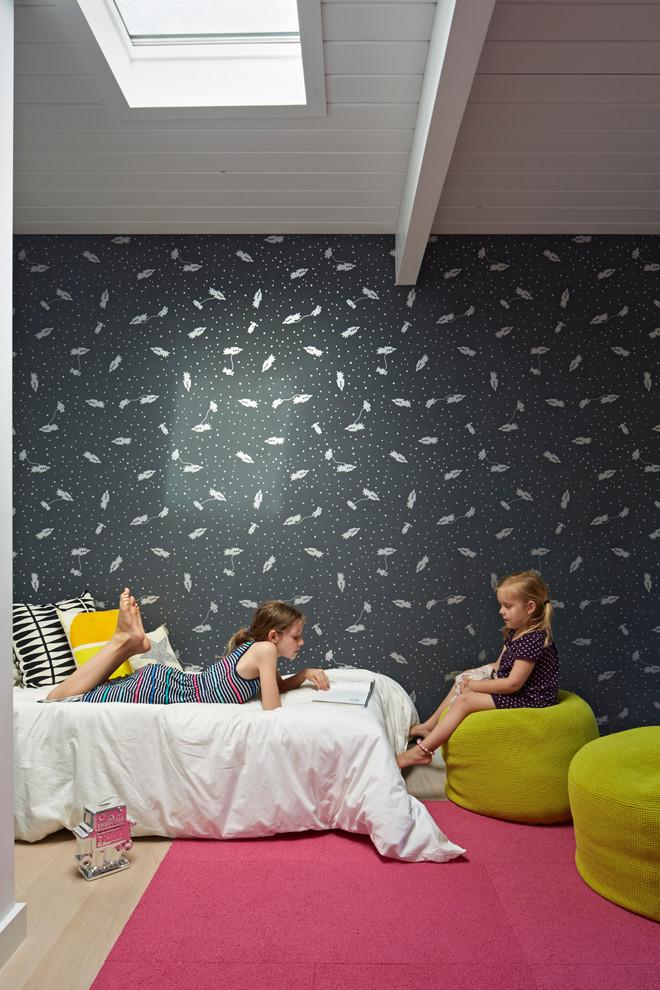 papel pintado para dormitorio infantil