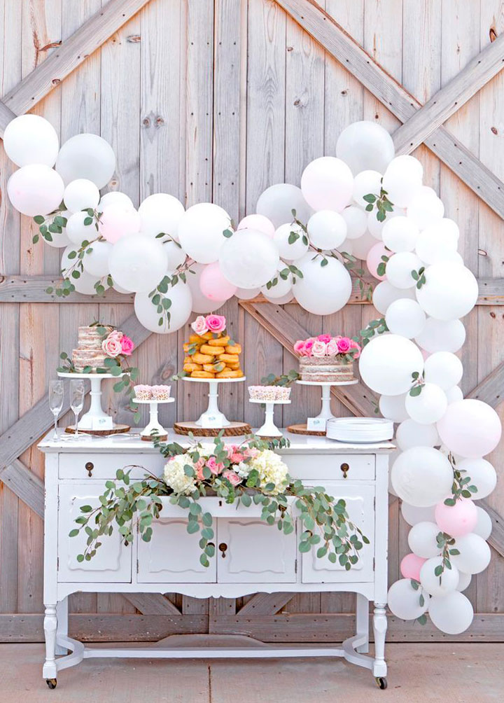 globos para decoración fiestas
