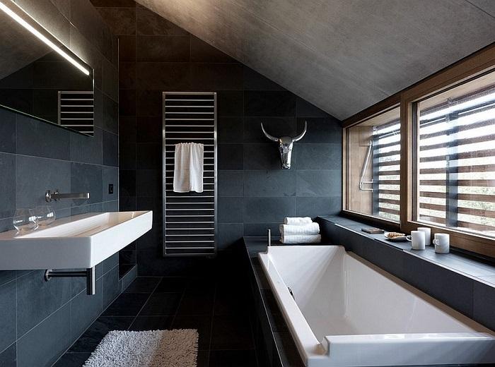 Baños modernos iluminación