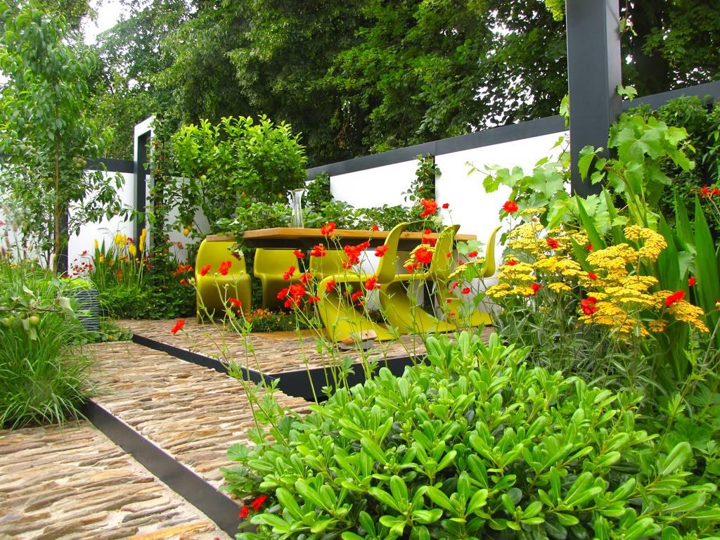 Decoracion jardin moderno