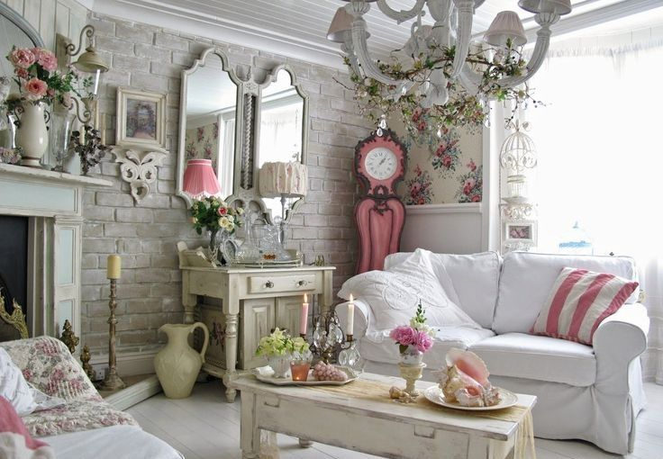 Shabby chic. Muebles
