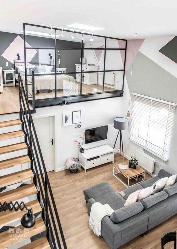 Decoración de un loft