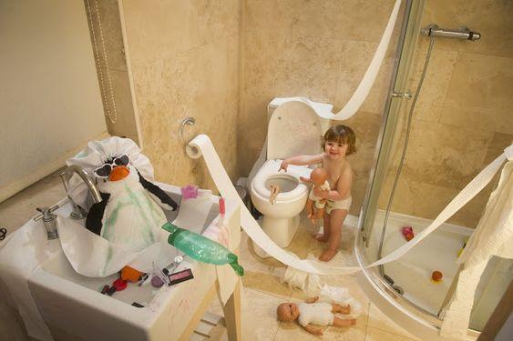Organización de los baños,