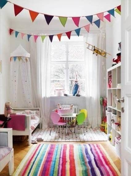 habitación infantil colores