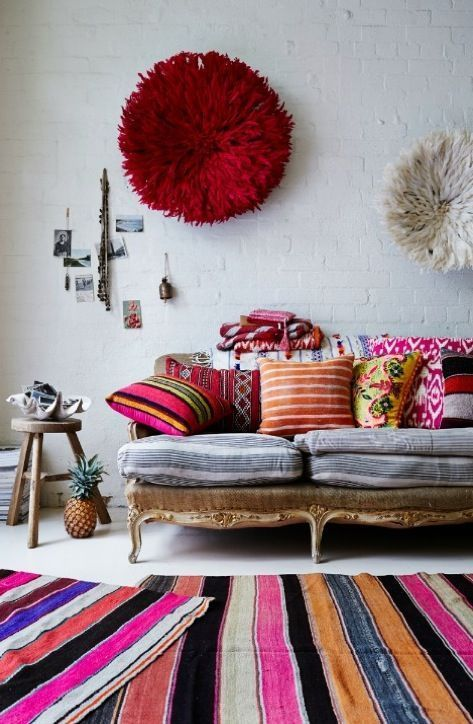 decoración boho