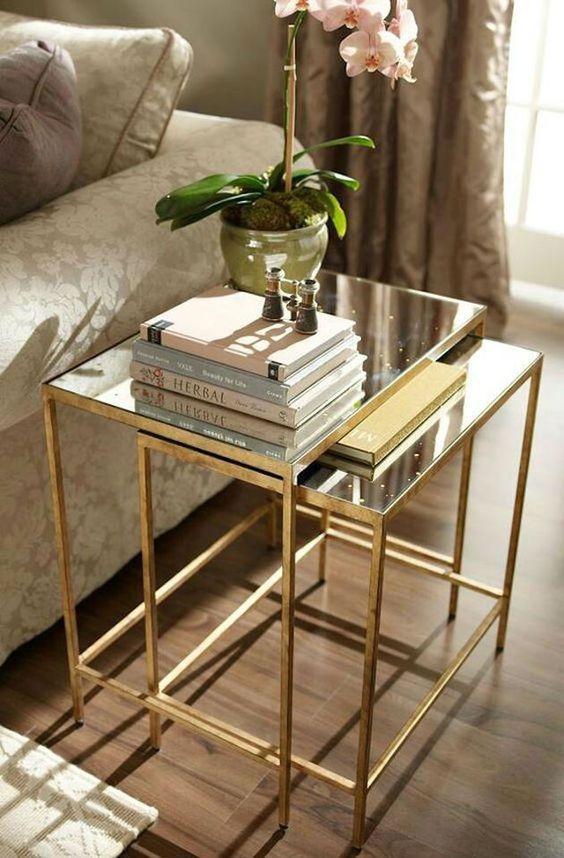 decoración con oro