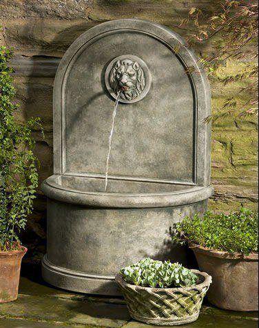 fuentes de agua decorativas